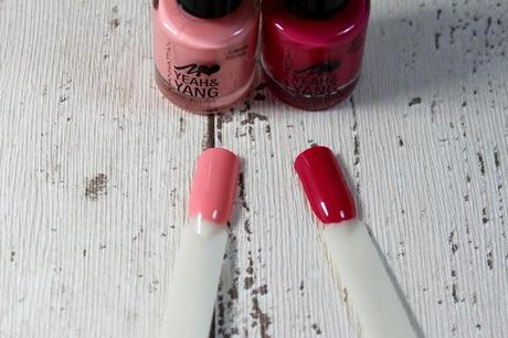 Manhattan by Bonnie Strange 'Yeah & Yang' Nagellacke [Laque Lotus & Cherry Blossom] *Review*