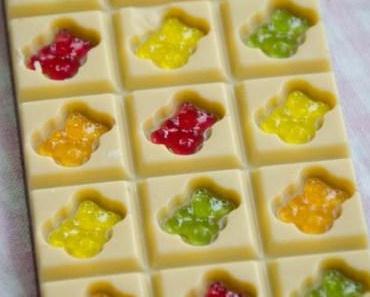 Gummibärchen-Schokolade