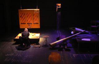 """Dieter Hufschmidt """"Mein Kopf ist ein zwitscherndes Vogelnest"""" in Hannover auf der Cumberlandschen Bühne, Schauspielhaus"""