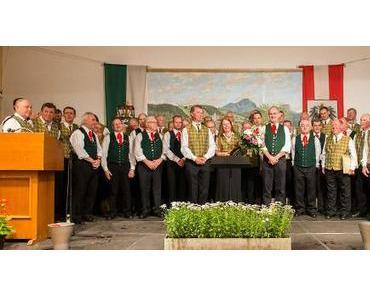 """90 Jahre Männergesangsverein (MGV) """"Alpenland"""" Mariazell"""