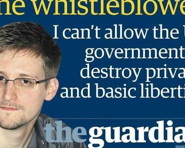 Held und Verräter aus Notwehr: Der Whistleblower EDWARD SNOWDEN
