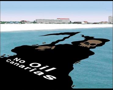 Erdbeben im Öl-Bohrgebiet neben den Kanarischen Inseln