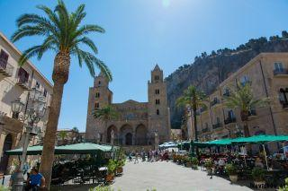 Cefalu Sizilien Dom