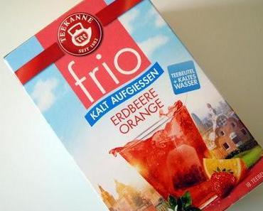 [Drinks] Teekanne frio Erdbeere-Orange