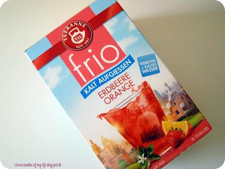 [Drinks] Teekanne frio Erdbeere-Orange
