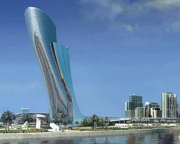 Der schiefste Turm der Welt steht nicht in Pisa - Sondern in Abu Dhabi