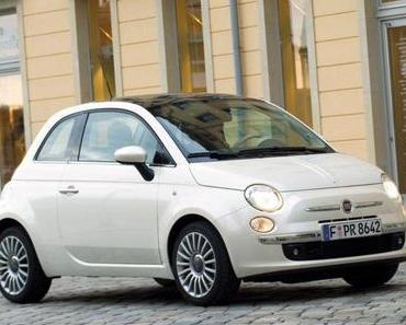 Top 10 Benzin-Sparer: Der Fiat 500 ist der sauberste Benziner