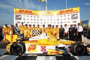 IndyCar: Hunter-Reay wiederholt Vorjahres Sieg auf der Milwaukee-Mile