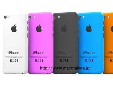 iPhone 6 mit 4,7-Zoll Display und 5,7-Zoll Bildschirm nächstes Jahr, Billig-iPhone in mehreren Farben?