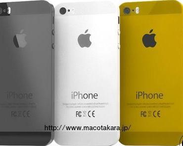 Kommt das iPhone 5S in Gold? Weitere Leaks (Display, Logicboard) untermauern Spekulationen