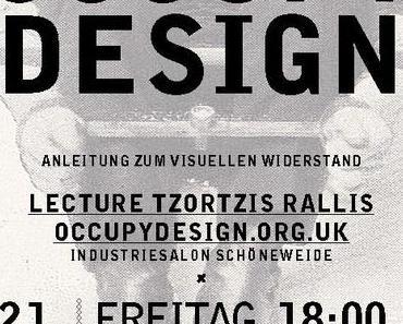 dk präsentiert: OCCUPY DESIGN –Vortrag 21.Juni