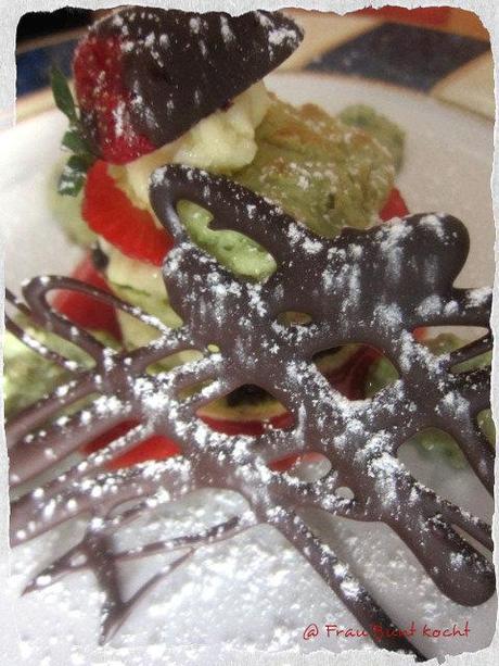 Pfannen - Kuchen Variante Rot-Grün...