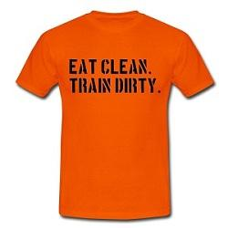 eat clean train dirty 250 Muskelaufbau mit Kettlebells
