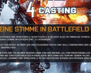 Battlefield 4: EA sucht deutsche Synchronsprecher