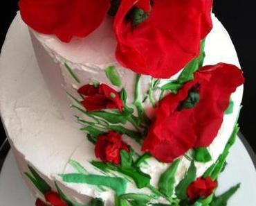 Mohnblüten-Torte