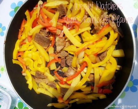 [Rezept] Weight Watchers Gyros-Kartoffel-Pfanne