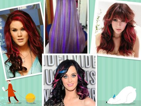 Meine Highlights Trend Frisur 2013