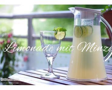 Limonade mit Minze !