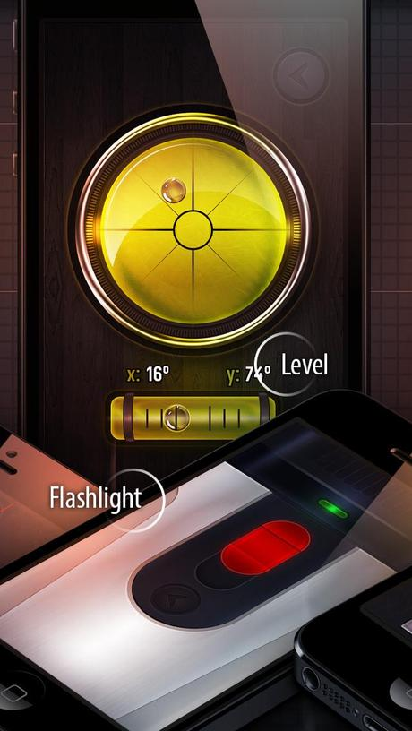 gadgets taschenlampe ebene winkelmesser lineal kompass metalldetektor l rmmessung. Black Bedroom Furniture Sets. Home Design Ideas