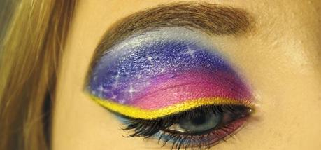 Colorful Sunset Make Up
