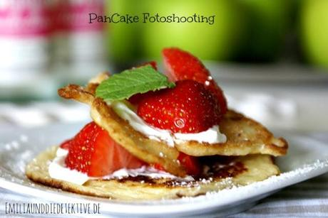 {Fotoshooting die Zweite} - Pancake-Special-Recipe  and new backdrop