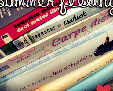 |Leseaktion| Summer Feeling Reads - dem Sommersub geht's an den Kragen!