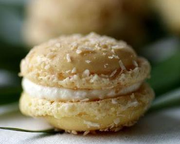 Kokos-Macarons -  Ein wenig Karibik-Feeling und Sommerlaune