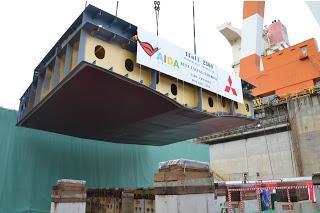 AIDA Cruises feiert Kiellegung der neuen Schiffsgeneration - Das Rostocker Kreuzfahrtunternehmen setzt auf Know-how aus Deutschland und modernste, energieeffiziente Technologie aus Japan