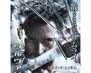 The Wolverine: Samurai Art auf frischen Poster