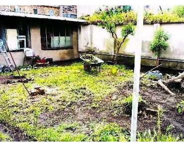 Umbau im Garten