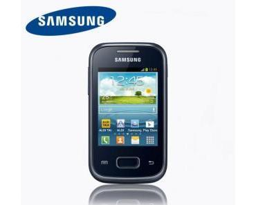 Samsung GALAXY Pocket Plus GT-S5301 ab 8. Juli für 84,99 € bei Aldi Nord