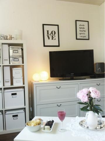 wohnzimmer umgestellt. Black Bedroom Furniture Sets. Home Design Ideas
