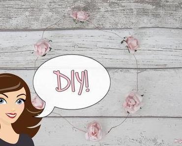 DIY: Blumenkranz für die Haare