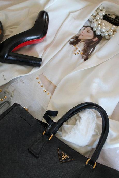 Outfit des Tages: White Jacket