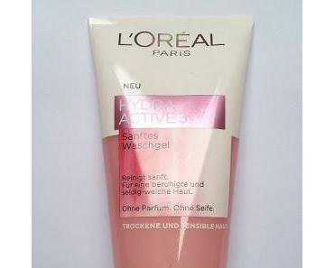 [Review] L'Oréal Hydra Active 3 Pflegeserie