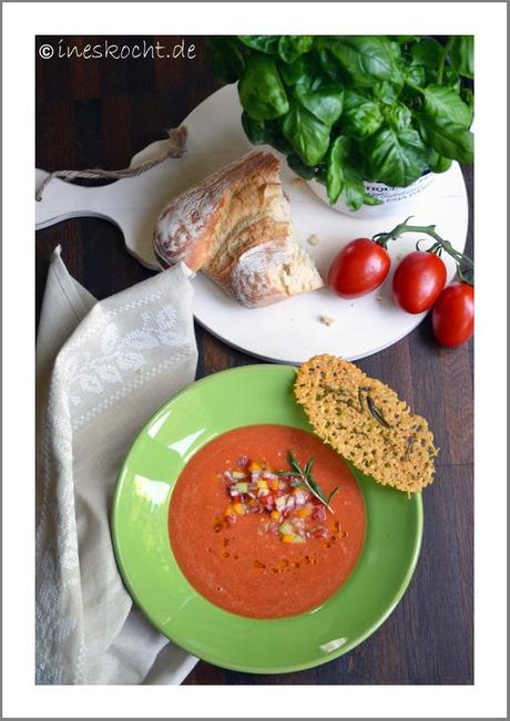 traditionelles Gazpacho,
