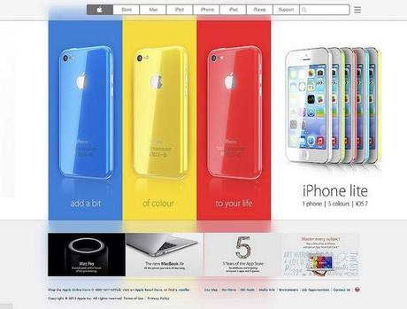 iphone5 lite bunt Das iPhone wird bunt!