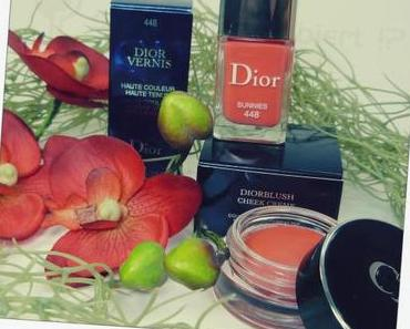 "Aus der DIOR ""Summer Mix Edition 2013″ Vernis Sunnies & Blush Cheek Creme Panama"
