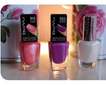 "BeYu -  Pastel Meets Neon Lacke ""Blueberry Splash"" + ""Pink Candy"""