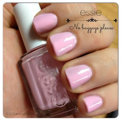 essie - No baggage please