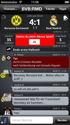 Fantomic Fussball Live Ticker Mit Fan Chat Spieletipps