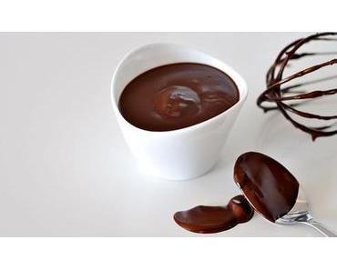 Schokoladen-Glasur mit Kakao und Traubenzucker fructosefrei