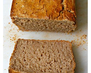 Buchweizenbrot für Brotbackautomat glutenfrei