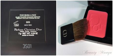 Dior Mystic Metallics Diorblush 'New Red'