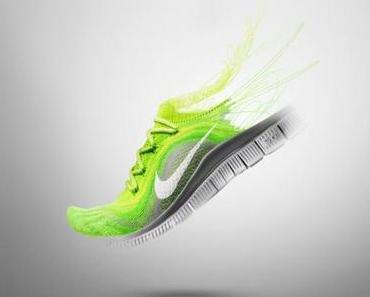 Nike Free Flyknit – Laufschuh und Socke in einem