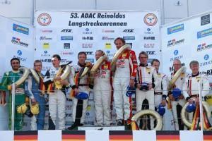 VLN: Erster Sieg für Porsche-Trio Abbelen / Huisman / Pilet