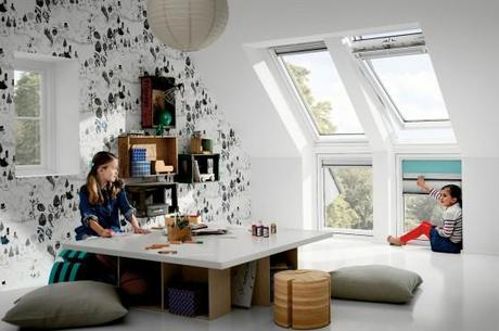 dachfenster licht luft und prima klima. Black Bedroom Furniture Sets. Home Design Ideas