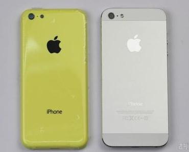 [Bilder] Vergleich von Plastik-iPhone (iPhone Lite) Rückseite mit iPhone 5