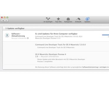 [Download] Mac OS X Mavericks DP4 Developer Preview 4