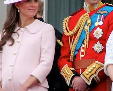 William und Kate präsentieren ihren noch namenlosen Jungen